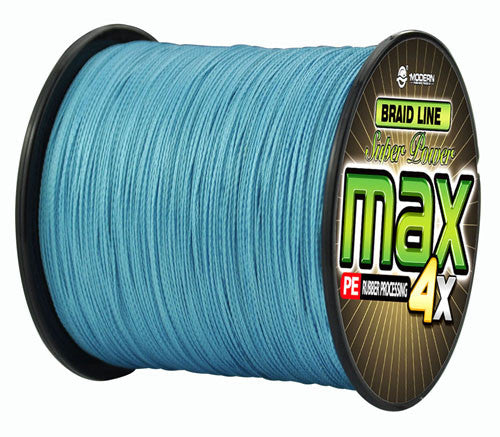 300M super strong Japanese multifilament PE braided fishing line - Sky Blue