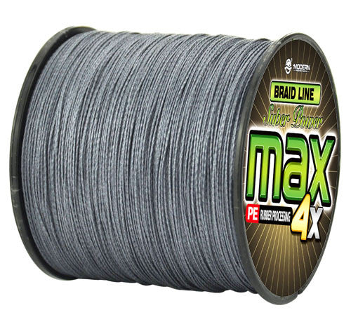 300M Super Strong Japanese Multifilament PE Braided Fishing Line - Dark Grey