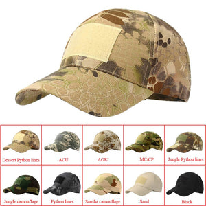 Camouflage Hat (Adult Cap 10 colors)