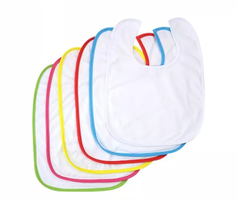High Quality Sublimation Baby Bib Blanks