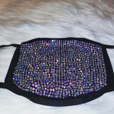 Swarovski  Crystals and Rhinestone face Masks includes 1 PM.2.5