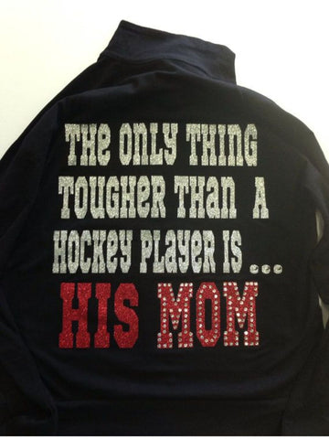 Hockey Mom Bling/Glitter Design