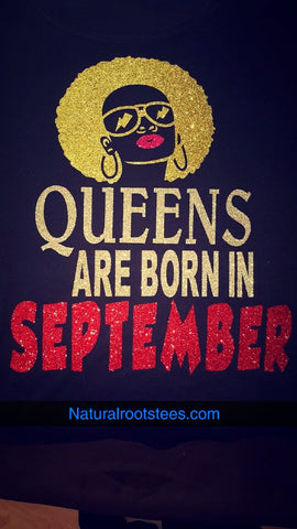 Customized Queen Birthday Shirt