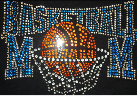 Basketball Mom Bling Design