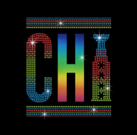 Chicago pride rainbow Bling Premium Tshirt