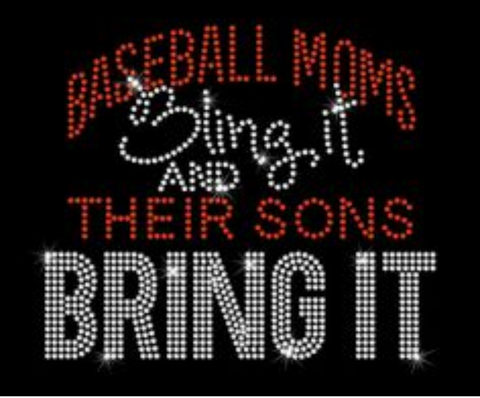 Bling It basketball ball moms