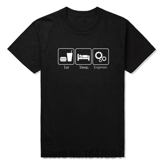 Eat Sleep Engineer Tshirts - D & J Unlimited llc