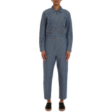 The Factory Boilersuit Faded Indigo