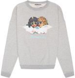 Vintage Angels Classic Crew Heather Grey