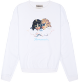 Vintage Angels Classic Crew Brilliant White