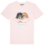 Vintage Angels Womens Slim Fit Tee Baby Pink
