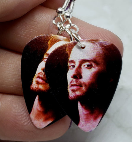 30 Seconds to Mars Guitar Pick Earrings