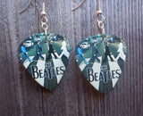 The Beatles Abbey Road Guitar Pick Earrings