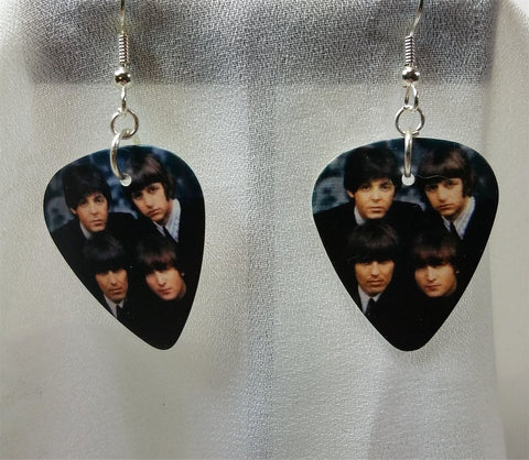 The Beatles Guitar Pick Earrings
