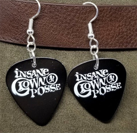 Insane Clown Posse Guitar Pick Earrings