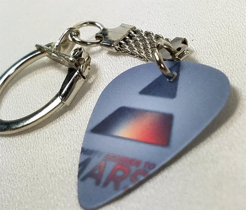 30 Seconds to Mars Guitar Pick Keychain