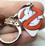 Ghostbusters Guitar Pick Key Chain