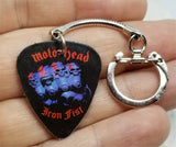 Motorhead Iron Fist Guitar Pick Keychain