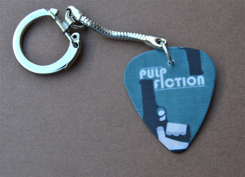 Pulp Fiction Guitar Pick Keychain