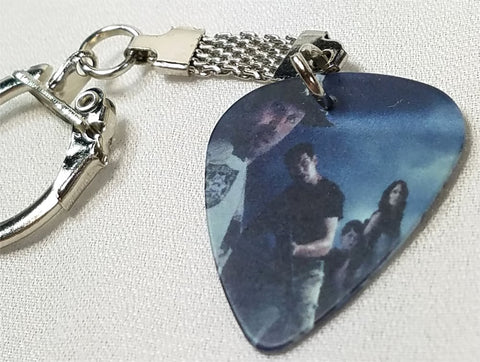 The Walking Dead Guitar Pick Keychain