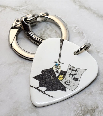 The Nightmare Before Christmas Mayor Guitar Pick Keychain