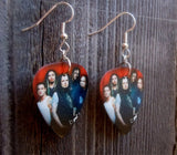 Korn Group Photo Guitar Pick Earrings
