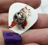 Dragon Ball Z Krillin Guitar Pick Pin or Tie Tack