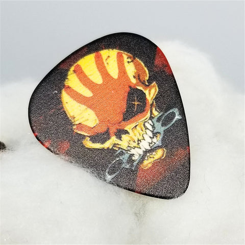 Five Finger Death Punch Guitar Pick Pin or Tie Tack