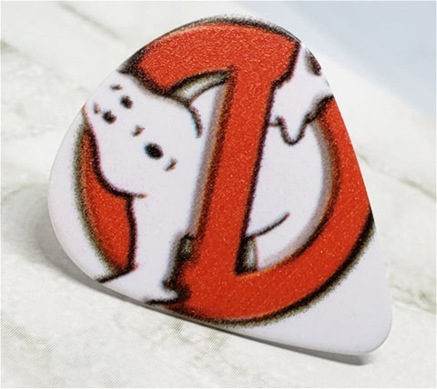 Ghostbusters Guitar Pick Pin or Tie Tack