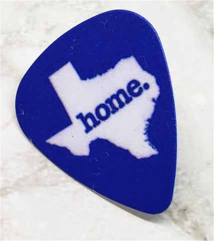 Texas Guitar Pick Pin or Tie Tack