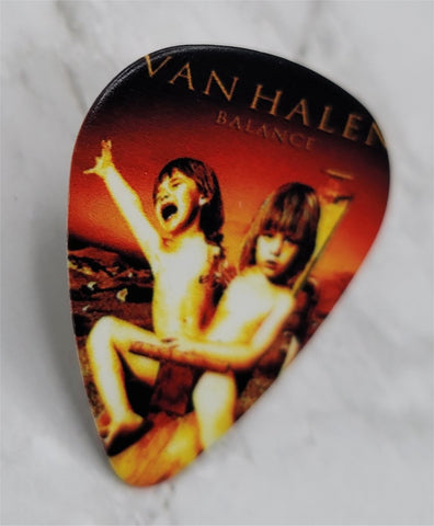 Van Halen Balance Guitar Pick Pin or Tie Tack