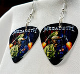 Megadeth Holy Wars - The Punishment Due Guitar Pick Earrings