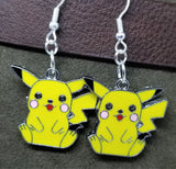 Pokemon Pikachu Charm Earrings
