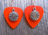 Beer Bottle Cap Charm Guitar Pick Earrings - Pick Your Color