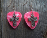 Cross Charm Guitar Picks