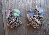 Fancy Fairy Charm Guitar Pick Earrings - Pick Your Color
