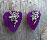 Fairy Charm Guitar Pick Earrings - Pick Your Color