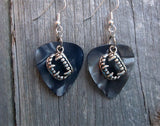 Fang Charm Guitar Pick Earrings - Pick Your Color