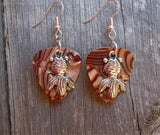 Goldfish Charm Guitar Pick Earrings - Pick Your Color