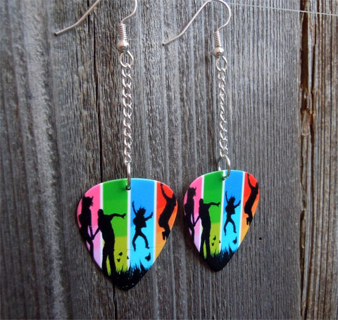 Dangling Colorful Family Guitar Picks
