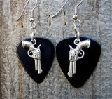 Revolver Charms Guitar Pick Earrings - Pick Your Color