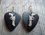 Revolvers with Stars Guitar Pick Earrings - Pick Your Color