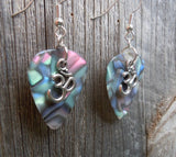 Ohm Charm Guitar Pick Earrings - Pick Your Color