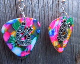 Artist's Palette Charm Earrings - Pick Your Color