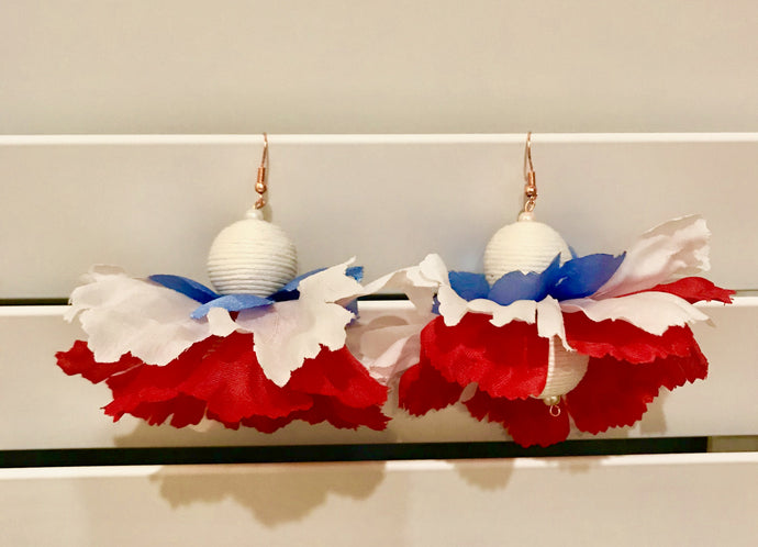 Fourth of July Earrings: Launching the Seasonal Earrings and Holiday Earrings Collections
