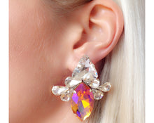 Leila Earrings Clear