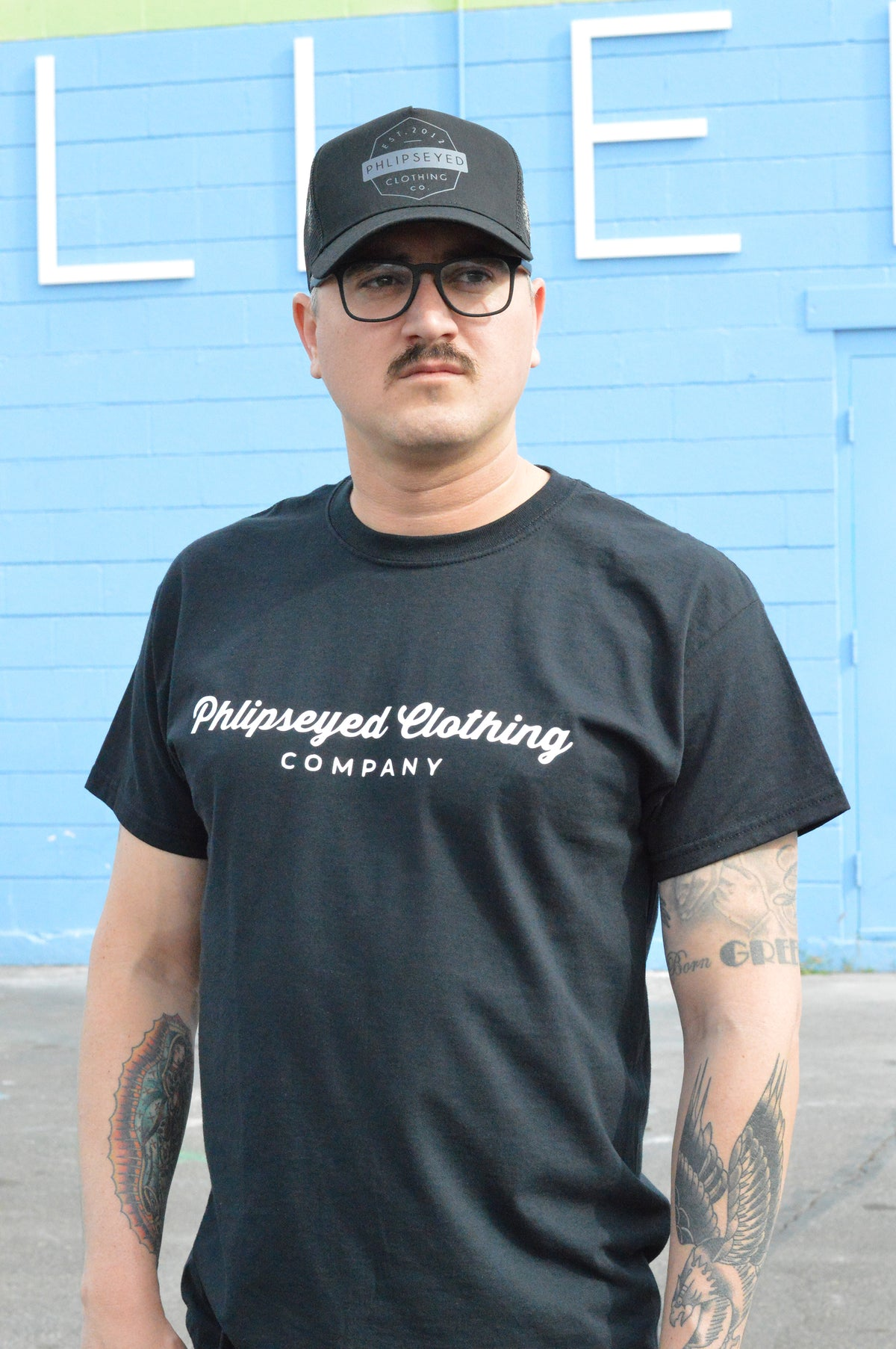 Phlipseyed Eclipsed Men's Tee / Black
