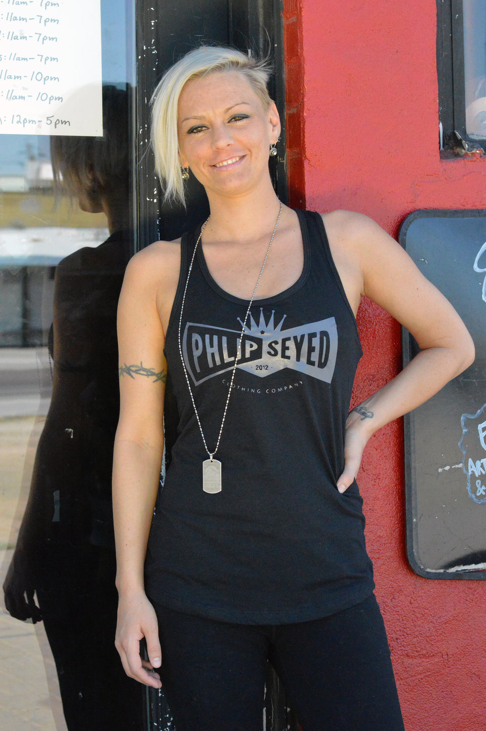 Phlipseyed Wistful Women's Tank / Black