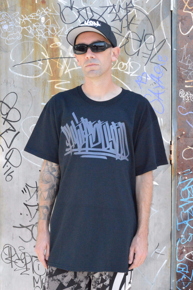 Phlipseyed Block Graffiti / Black
