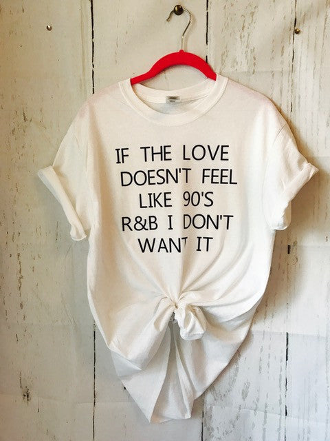 90'S R&B T-SHIRT - Mavictoria Designs Hot Press Express